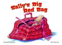 Sally's big red bag