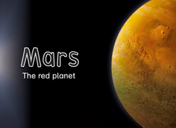 Mars: <i>The red planet</i>