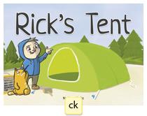Rick's tent